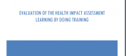 [28/02] Evaluation of the HIA learing by doing training. Hirono K. Centre for Health Equity training, research and evaluation, UNSW Australia, 2015